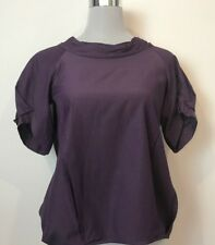 VERONIKA MAINE PURPLE TOP SIZE 6 WORK / OFFICE / CORPORATE / EVENING
