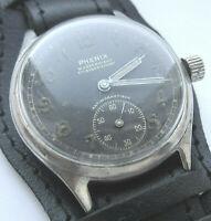 PHENIX DH № 5555  Wristwatch German Army Wehrmacht of period WWII . Military.