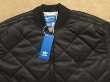 Mens Adidas Originals Quilted Superstar SST Bomber Jacket Top Ltd Edition Black