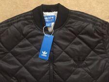 Mens Adidas Originals Quilted Superstar SST Bomber Jacket Top Ltd Edition Black