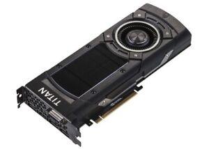 NVIDIA GeForce GTX TITAN X 12GB (EVGA SC GAMING) in Perfect Condition!