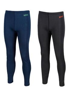 2 x Regatta Mens Zimba Merino Wool Base Layer Thermal Pant Leggings RRP £50 each