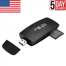 CF SD SDXC T-FLASH USB 3.0 Multi Slot Flash Memory Card Reader/Writer Transfer