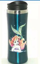 Disney Ariel Little Mermaid Travel Coffee Cup Mug Stainless Steel Theme Parks
