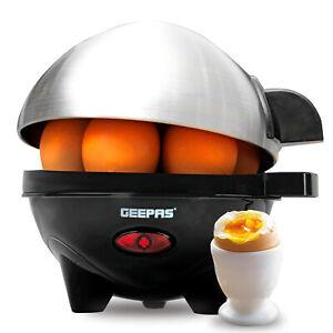 Geepas Egg Boiler Cooker Poacher Steamer Omelette Maker Boiled 7 Eggs
