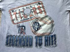 Vintage 1997 DETROIT TIGERS LICENSED TO HIT MLB baseball CECIL FIELDER Trammell