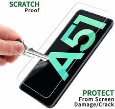 Verre Trempé pour Samsung A51,Film Protection écran Dureté 9H