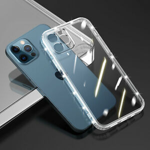iPhone 13 12 11 Pro Max XS XR 8 7 Shockproof Case Clear Thin Gel Cover For Apple