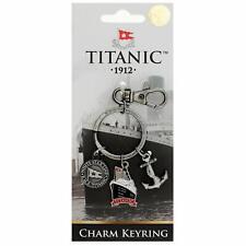 Titanic Charms Vintage Collectors Metal Keyring (sg)