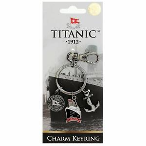 Titanic Charms Vintage Collectors Metal Keyring (sg 1402)