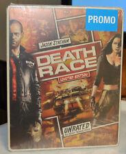 NEW SEALED DEATH RACE COMIC ART LIMITED EDITION STEELBOOK BLU RAY & DVD MOVIE