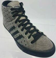 Addidas Neo alta Tops Zapatillas Sneekers Negro Etiqueta Gris y Negro para Hombre Talla 5.5 $