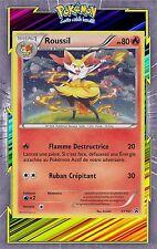 Roussil Holo Promo - XY161 - Carte Pokemon Neuve Française