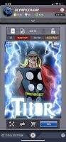 Topps Marvel Collect Thorsday classic Thor