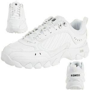 K-Swiss HS329 Chaussures Baskets Femmes 96354-193-M Blanc