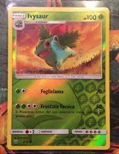 Ivysaur 2/73 HOLO REVERSE, Pokemon Leggende Iridescenti italiano