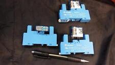 Finder Power relay (8A, 24V coil) & socket + screw terminals 40.52.9.024,95.85.3