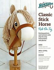 """""""Classic Stick Horse"""" Ride On Toy Pattern By Rustic Horseshoe"""