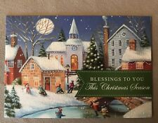 """Beautiful Christian Christmas Card By DaySpring Cards~6 1/4 X 4 1/4"""", BRAND NEW!"""