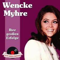 WENCKE MYHRE - SCHLAGERJUWELEN-IHRE GROSSEN ERFOLGE  CD NEU
