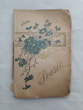 Poesie Album Wishes To Liebe Martha 28 Wishes In 56 Pages Original 1899