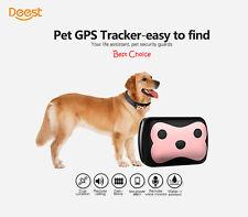 IP65 Pet Dog Cat Collar Safe Locator GPS Tracker GSM Anti-lost Finder Waterproof