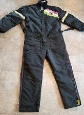 Rare black vintage Arctic Cat snowmobile suit men's medium