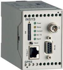 INSYS GPRS/EDGE 5.0 Ethernet Router/Modem Hutschiene SIM GSM  NEU in OVP!!!