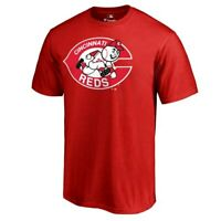 Fanatics Branded Cincinnati Reds Red Cooperstown Collection Forbes T-Shirt