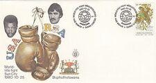 (84266) Bophuthatswana Cover Boxing World Title Fight 25 Oct 1980