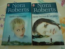 LES FRERES QUINN 2 & 3 - SABLES MOUVANTS  -  Nora Roberts - J'AI LU 5215+ 5106