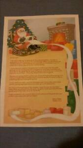 Truly Personalised Letter From Santa And North Pole Stamped Envelope Traditional