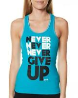 **NEW**LORNA JANE** never give up tank top - sz S/ 10, M/12