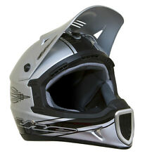 THE Thirty3 Rod Composite Full Face MTB Helmet - Silver - Large