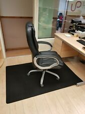 More details for to fit office desk chair carpet mat floor protector anti slip 1m x 1.5m