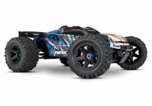 Traxxas E-Revo VXL 2.0 RTR 4WD Electric Monster Truck (Orange) w/VXL-6s TRA86086