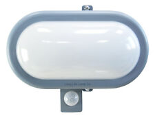 PIR Movement Sensor 10W LED BULKHEAD Light Outdoor Security Wall Light 6000K