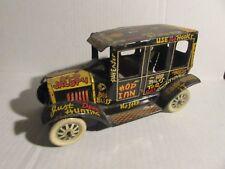 "1940's Louis Marx 7"" OLD JALOPY Tin Litho Toy VG+ 4.5 No Mechanics"
