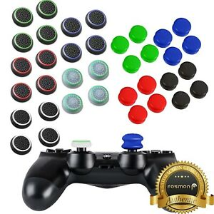 4x Slim Extended Controller Thumb Grips Cap Cover for PS5 PS4 Xbox One 360 Wii U