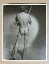 Handsome Young Model, Western Photography Guild Original Physique Print, Nice!