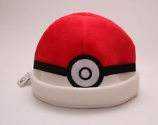 New Cosplay Pokemon Plush Hat Poke Ball Beanie Cap Nintendo Gift