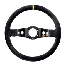 Sparco 015R215CSN 215 Competition Black Suede Steering Wheel 350mm