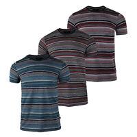 Beautiful Giant Men's Basic Short Sleeve Full Jacquard Pattern T-shirt