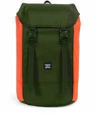 GUYS WOMENS Herschel Supply Co. Iona Forest Night & Orange 24L Backpack NEW $70
