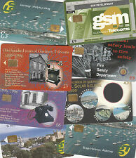 Guernsey Phonecards fine used multi listing