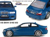 LTD Otto Models 1:18 - BMW M3 E46 Laguna Seca Blue - OttoMobile - NEW