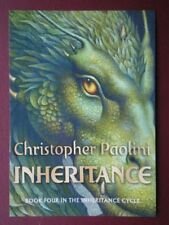 POSTCARD ADVERT BOOK POSTER - CHRISTOPHER PAOLINI - INHERTANCE'