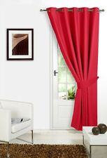 Red 66 Width X 84 Drop ( Only 1 Panel ) Supersoft Thermal Blackout Door / Top