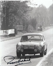 Paddy Hopkirk Hand Signed Le Mans 1964 Photo 10x8 6.