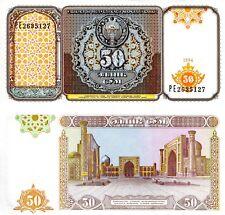 UZBEKISTAN 50 Sum Banknote World Paper Money UNC Currency Pick p-78 Bill Note